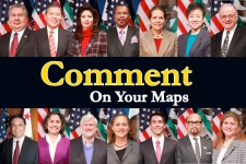 Commissioners asking you to comment on your maps
