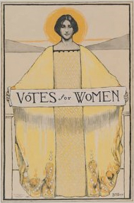 Votes for Women - 1911 Poster